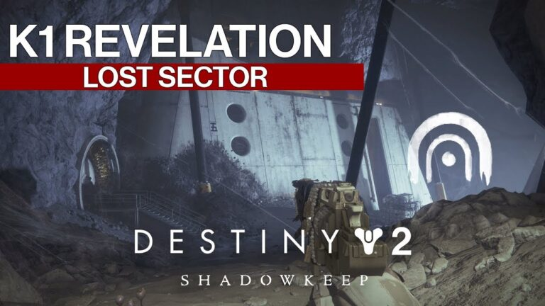Destiny 2 Where to Find K1 Revelation Lost Sector