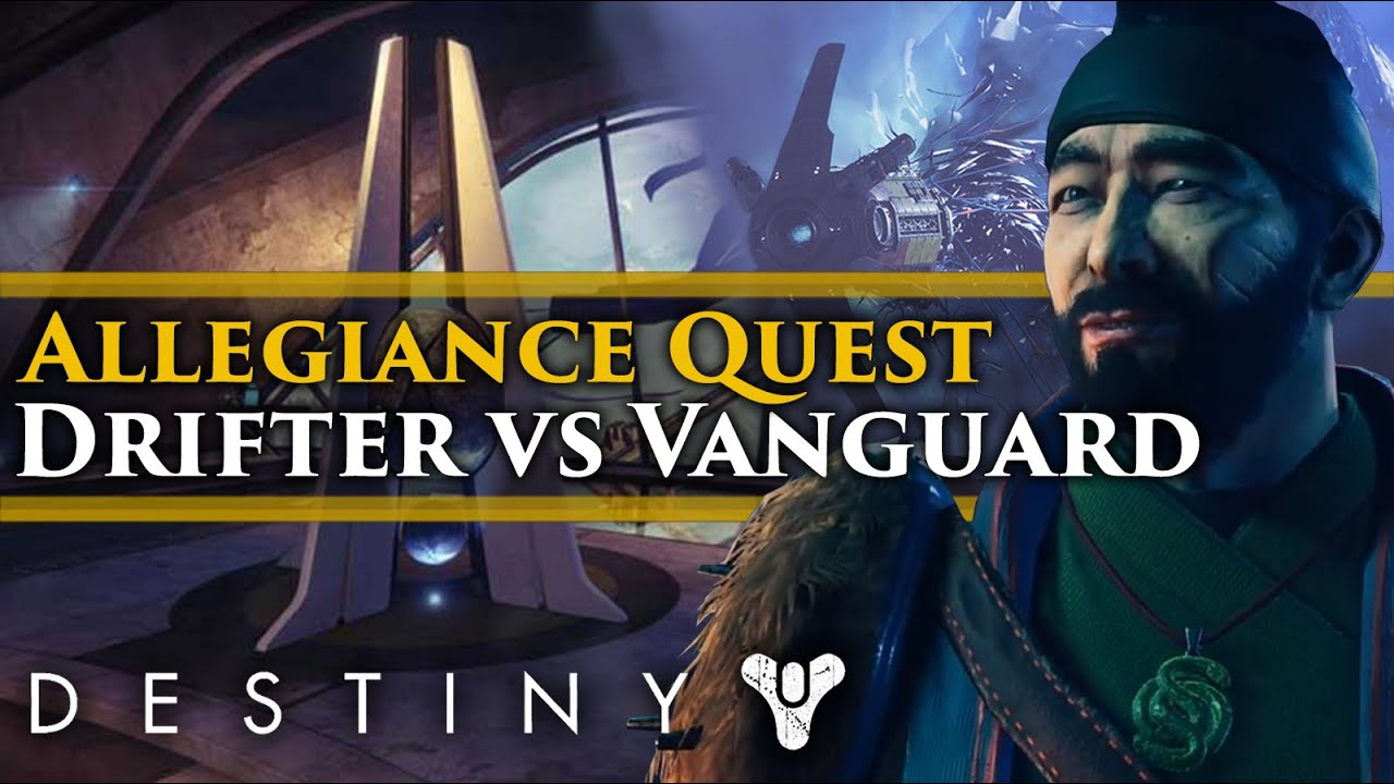 How to Start Allegiance Quest in Destiny 2