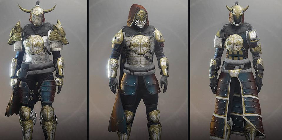 Destiny 2 Iron Banner Armor