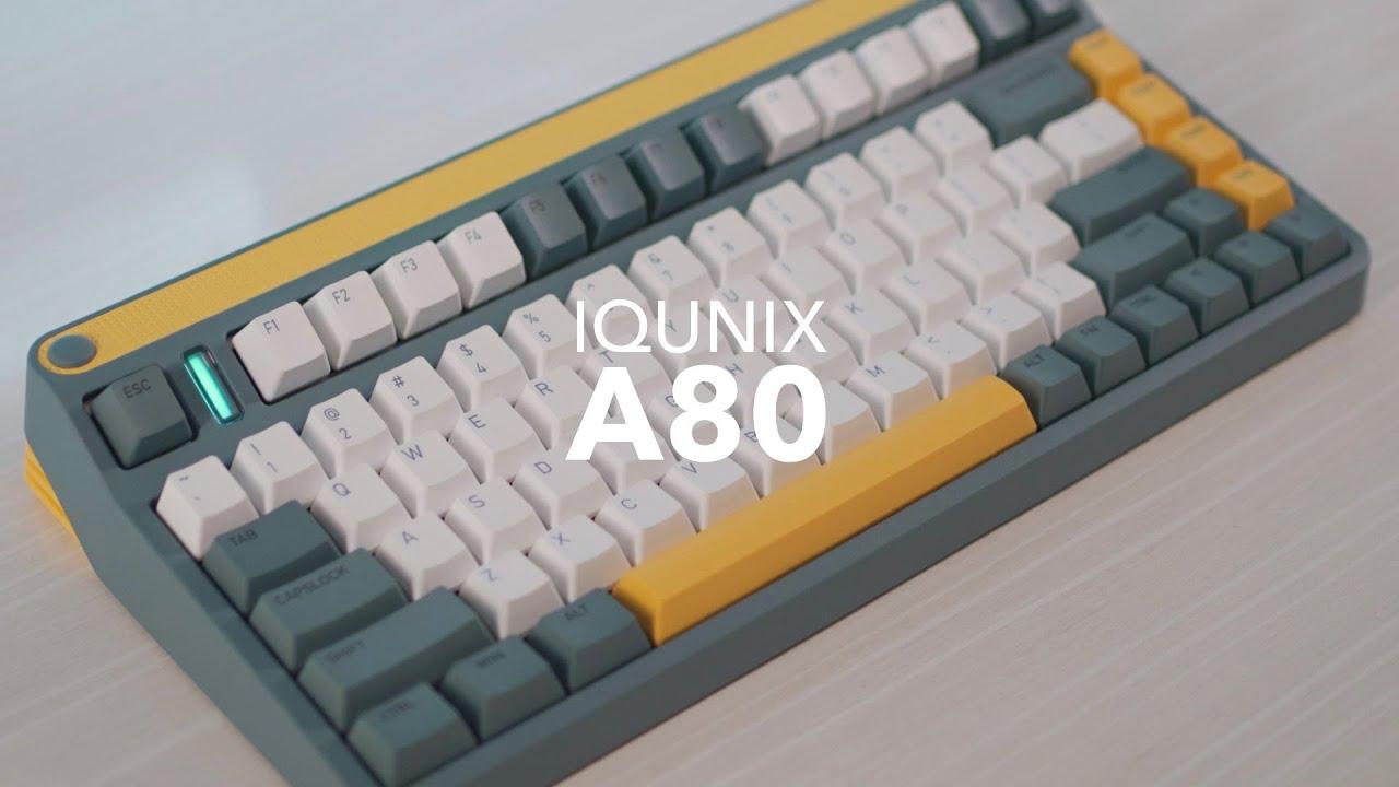 iQunix A80 Explorer Wireless Mechanical Keyboard Review