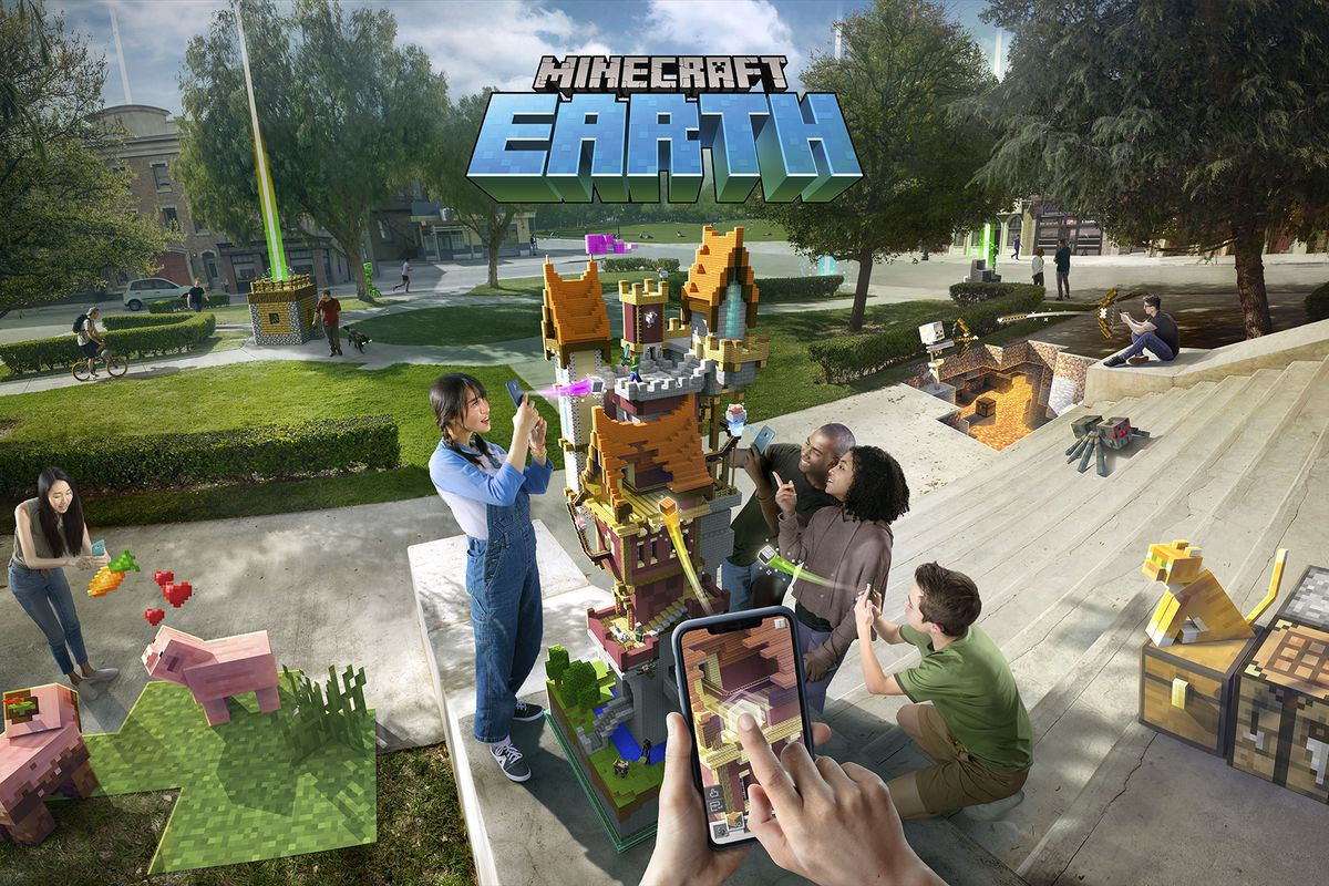 Minecraft Earth Mobile iOS Free Download