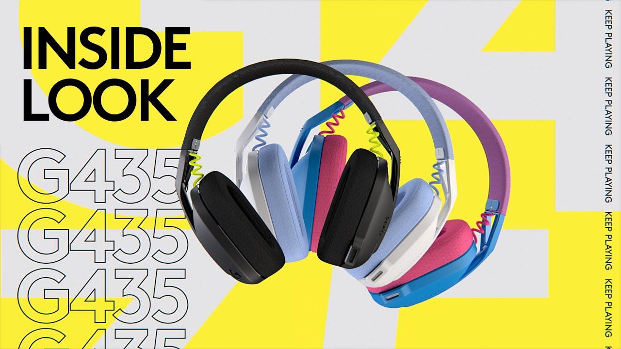 Logitech G435 Lightspeed Wireless Gaming Headset Review