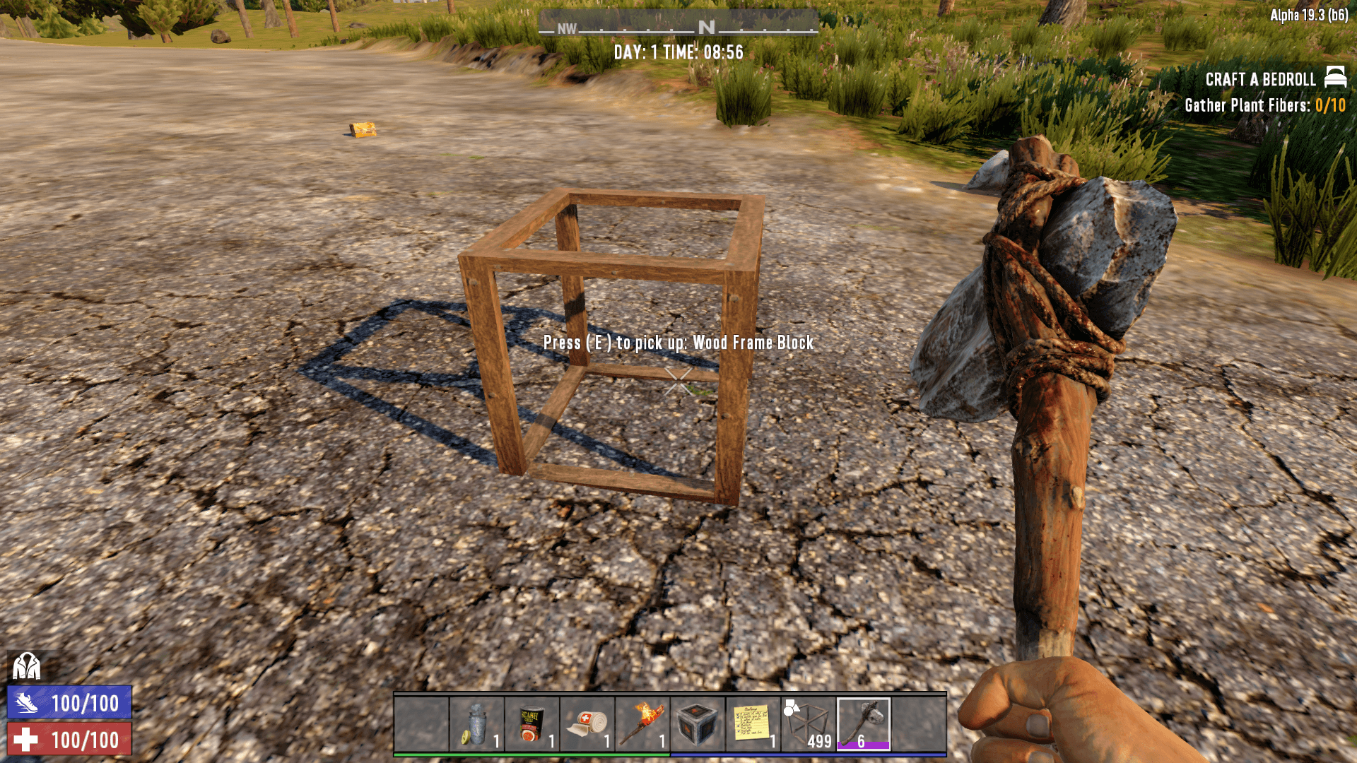 How to Upgrade Wood Frames in 7 Days to Die