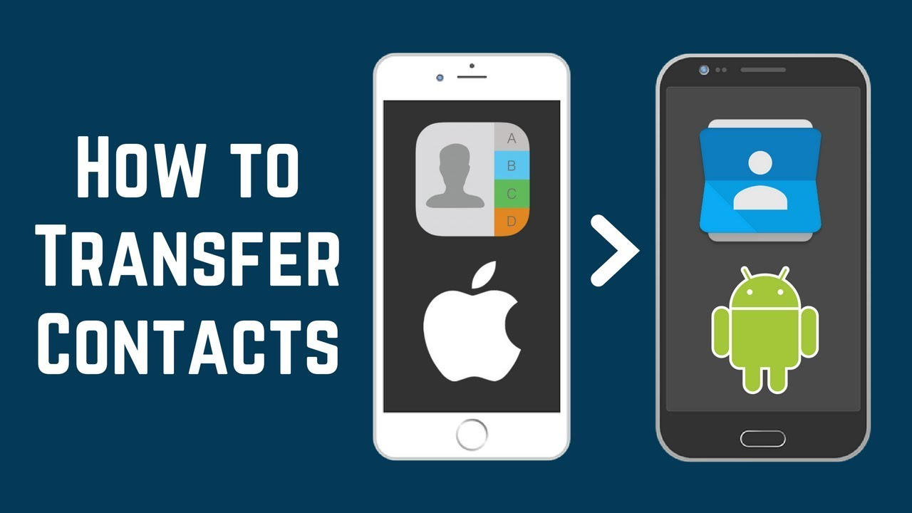 How to Transfer Contacts from iphone to Android using Bluetooth