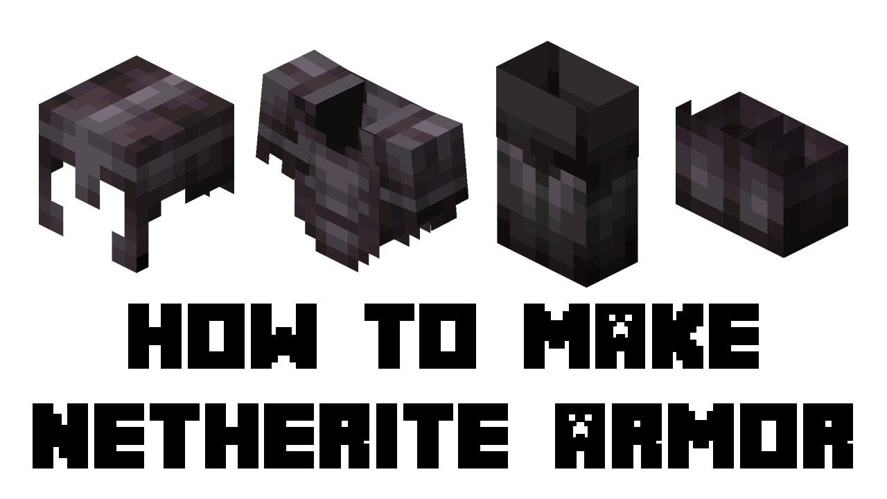 How to Make Netherite Armor in Minecraft