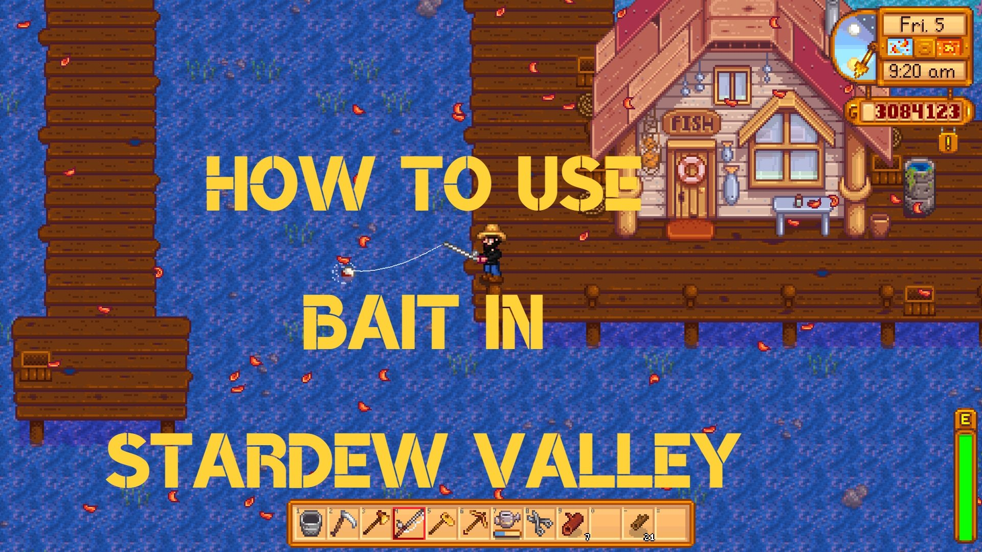 How to Use Bait in Stardew Valley
