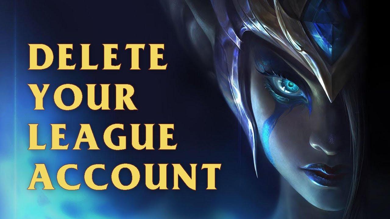 Delete League of Legends Account