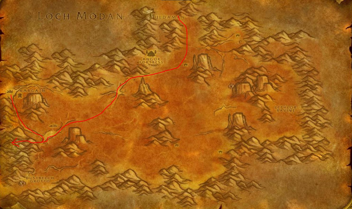 How to Get to Searing Gorge in WOW Classic